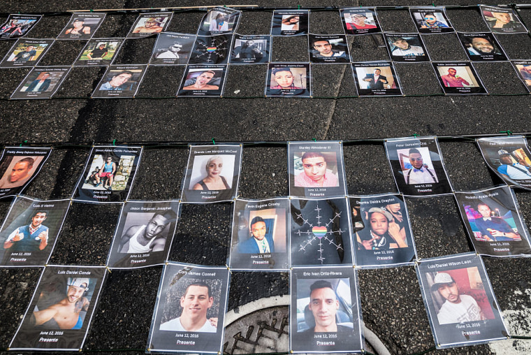 Photos of Pulse Victims