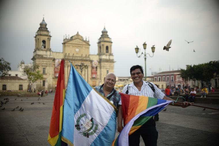International Day Against Homophobia & Transphobia in Guatemala City