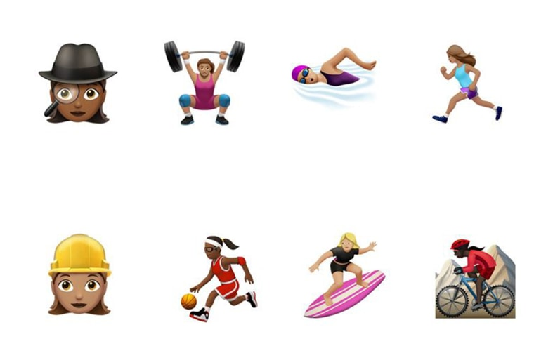 More than one hundred new and redesigned emoji characters will be available to iPhone and iPad users this Fall with iOS 10, the company announced August 1.