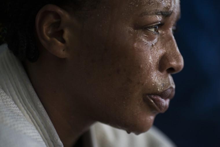 Yolande Mabika, a refugee from the Democratic Republic of Congo
