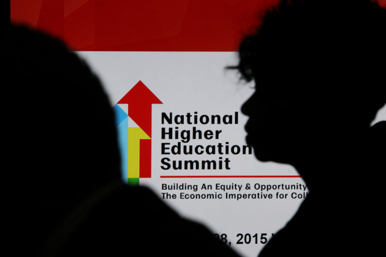 The National Urban League and USA Funds host the National Higher Education Summit Tuesday, Oct. 27, 2015 in Washington at the Gallup Building.