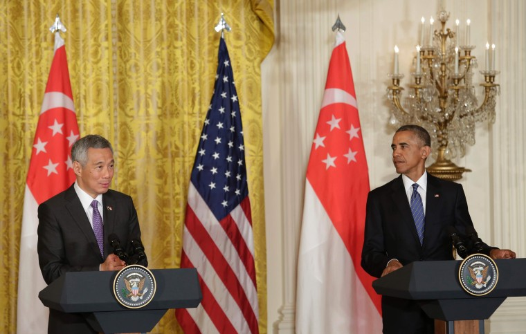Image: US-SINGAPORE-DIPLOMACY