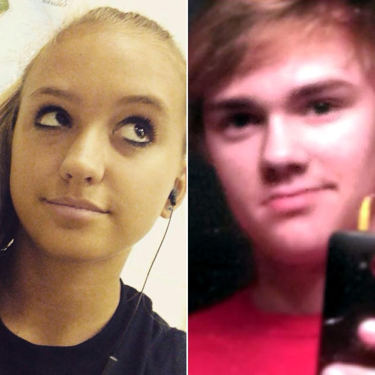 Natalie Henderson, of Roswell, Georgia, and Cater Davis, of Woodstock, Georgia, both 17, were discovered dead by delivery driver in the parking lot of a Publix in Roswell early Monday.