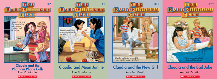 "Claudia Kishi, the vice president of ""The Baby-Sitters Club,"" served as a role model for Asian-American women in their youth."