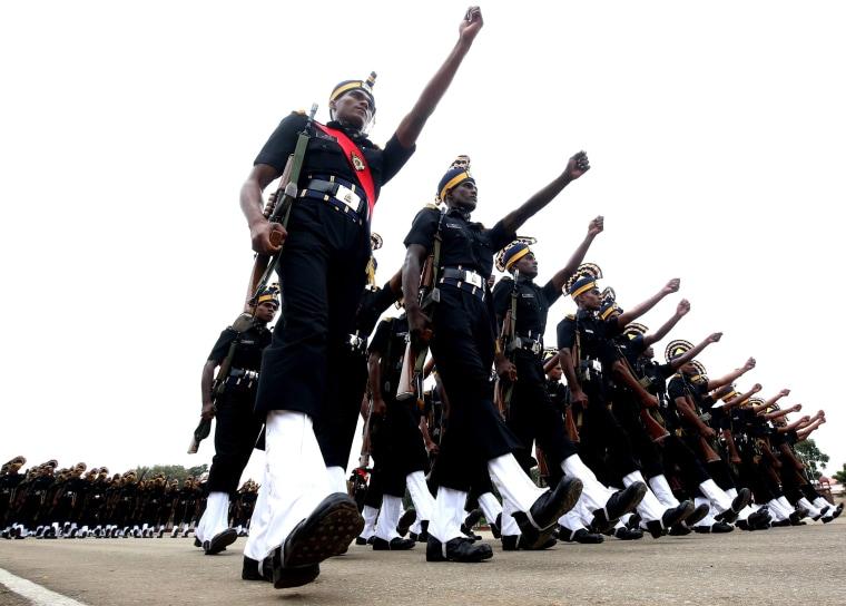 Image: India Army Recruits graduation ceremony in Bangalore