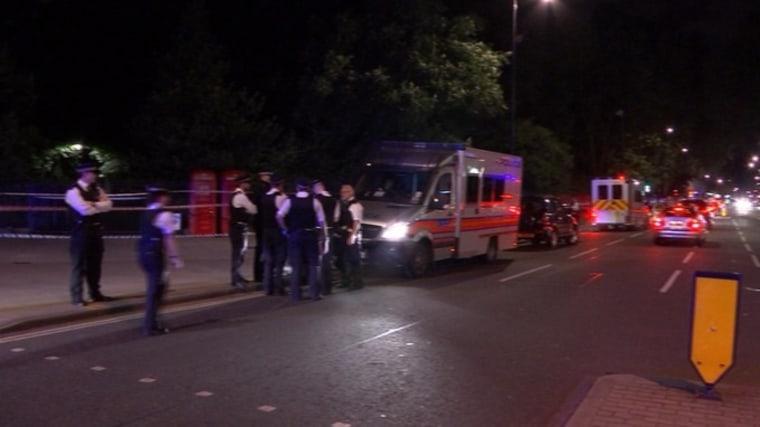 IMAGE: London knife attack scene