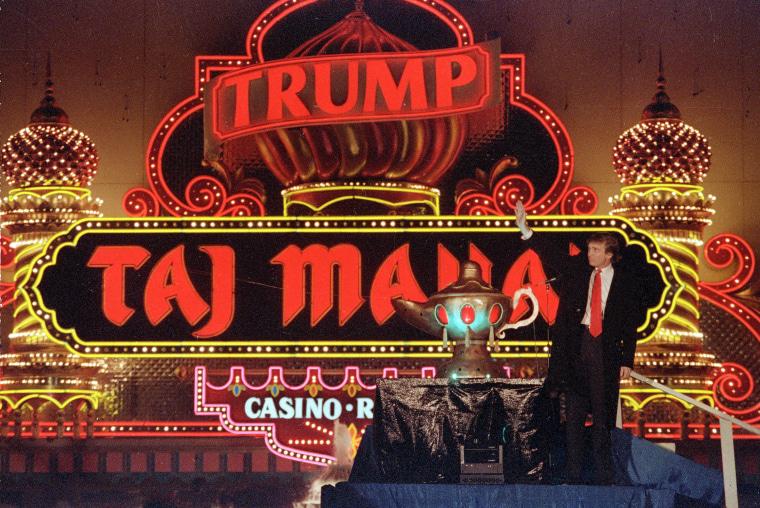 IMAGE: Donald Trump in 1990