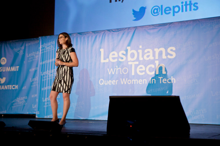 Leanne Pittsford, founder of Lesbians Who Tech