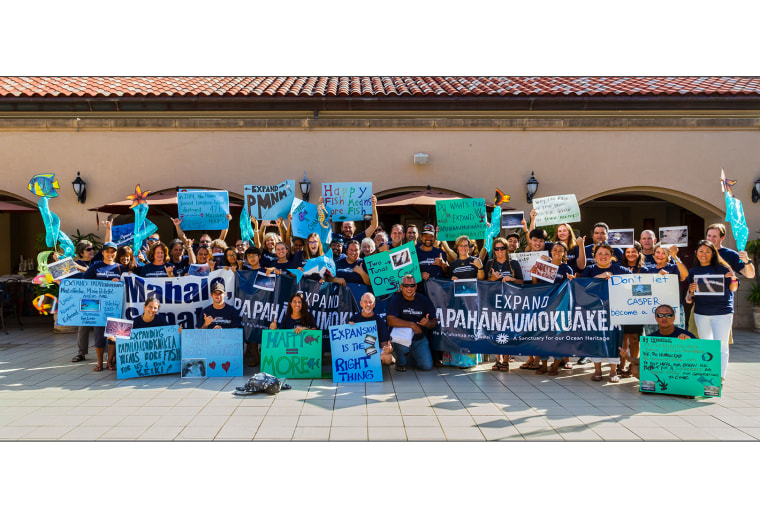 Expand Papahanaumokuakea supporters at Oahu public hearing Monday