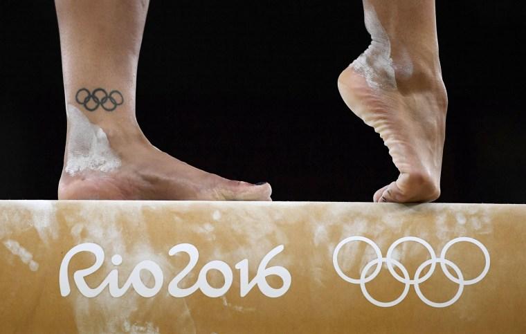 Image: 2016 Rio Olympics - Gymnastics training