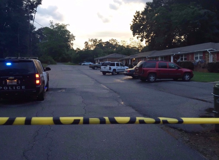 Two children have died after being left in their car seats outside a Carroll County duplex in Georgia, August 4.
