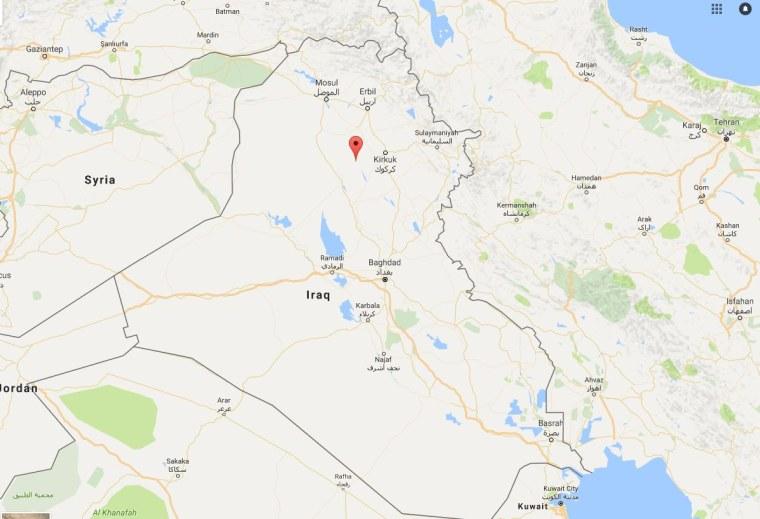 Image: Map of Iraq