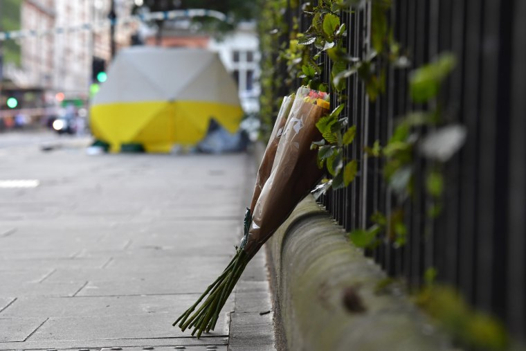Image: Woman Stabbed To Death In Central London