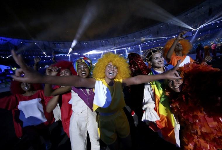 Image: 2016 Rio Olympics - Opening ceremony