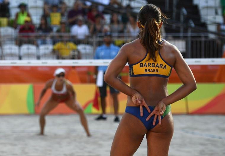 Image: BEACH VOLLEYBALL-OLY-2016-RIO-BRA-CZE