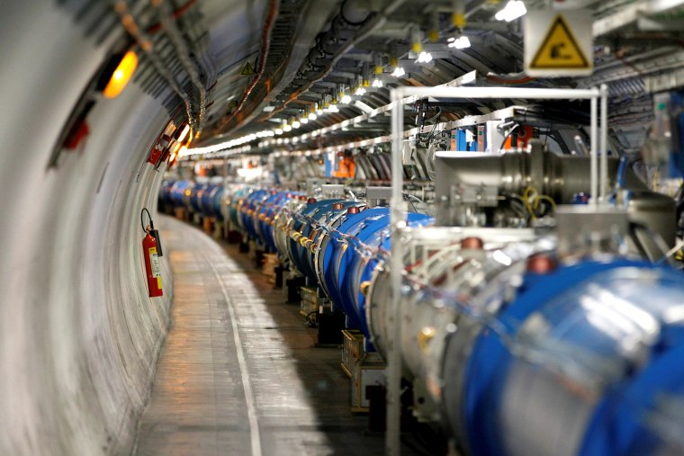 Image: General view of the LHC at the CERN