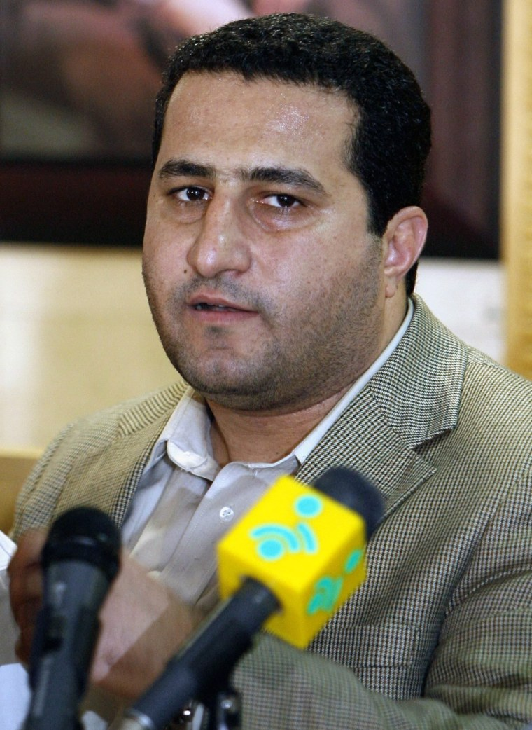 Shahram Amiri in July 2010.