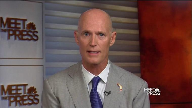 Rick Scott on Meet the press