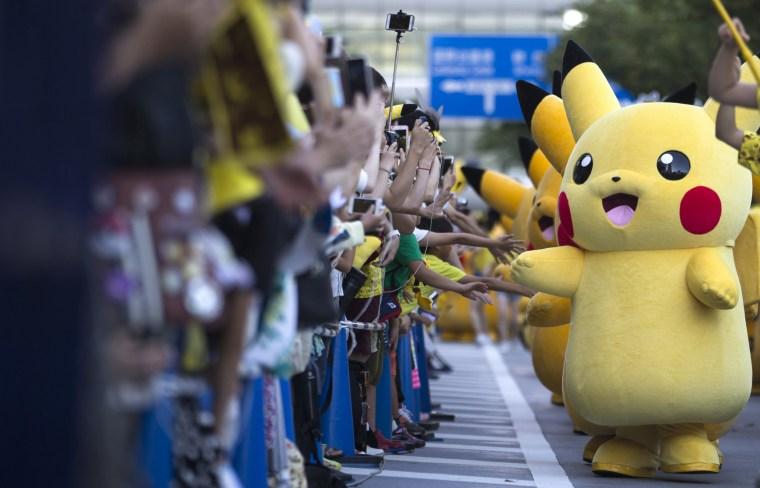 Image: Pikachu Outbreak Festival 2016 In Yokohama