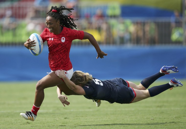 Image: Rugby - Women's Pool C Canada v Britain