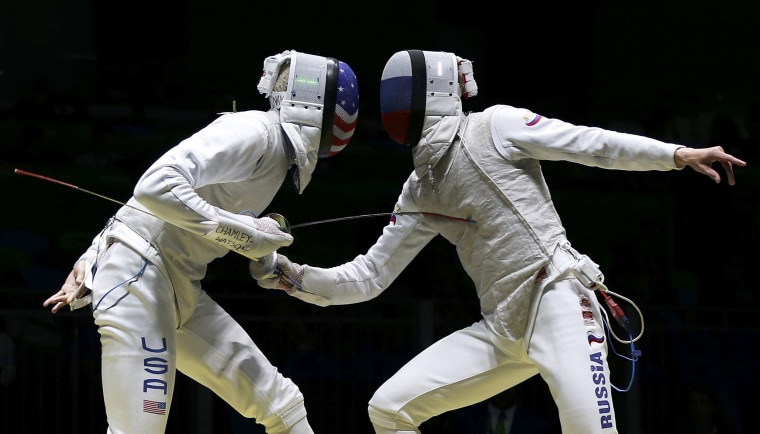 Image: Fencing - Men's Foil Individual Table of 32