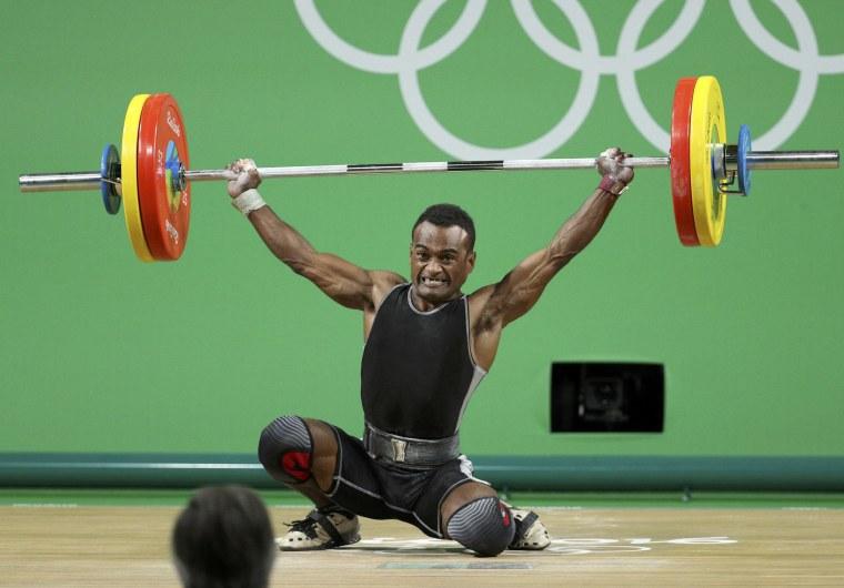 Image: Weightlifting - Men's 56kg