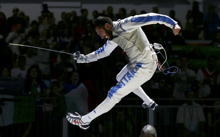 Image: Fencing - Men's Foil Individual Table of 16