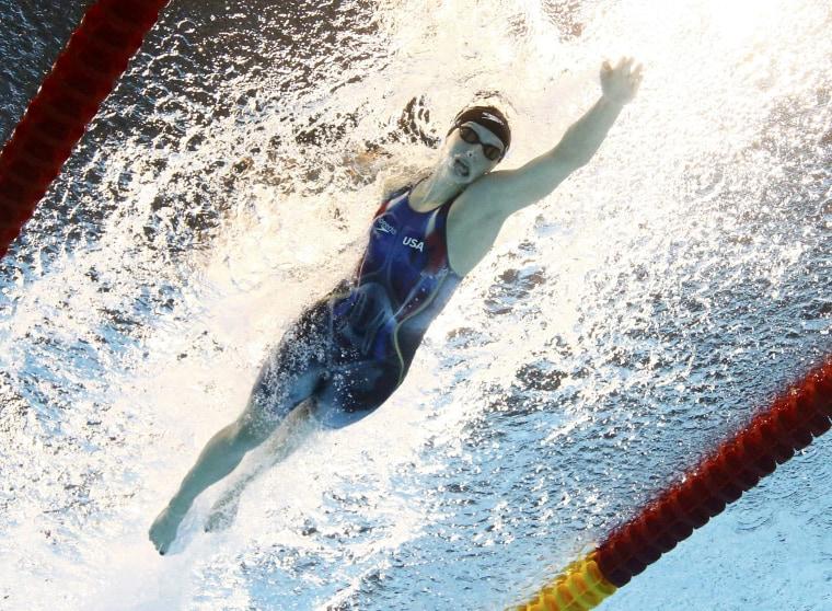 Image: Swimming - Women's 400m Freestyle Final