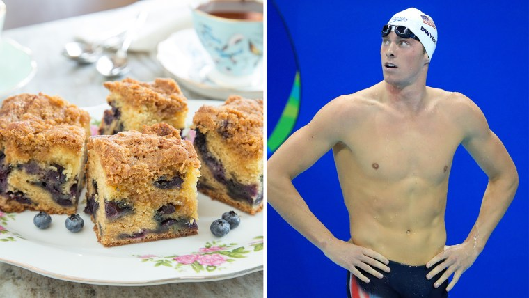 Conor Dwyer of USA looks up during the Rio Olympics.