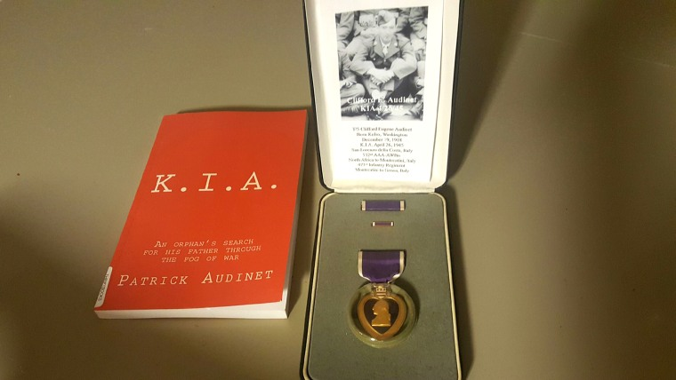 Purple heart found in Texas storage unit