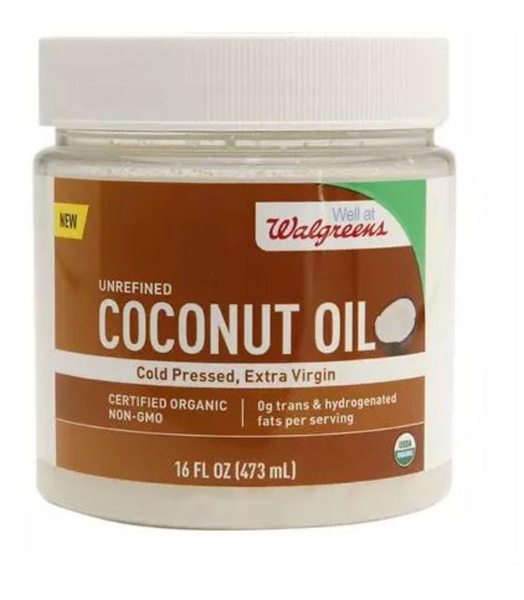Walgreens Extra Virgin coconut oil