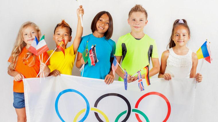 IMAGE: Olympic kids