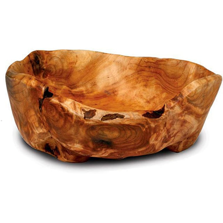 Enrico Rootworks Medium Flat Cut Rounded Root Bowl, $38.99; overstock.com