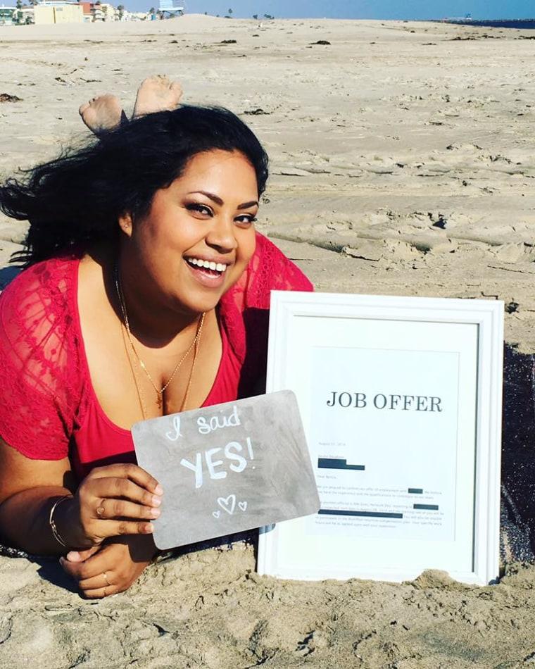 Benita Abraham lands dream job in romantic photo shoot
