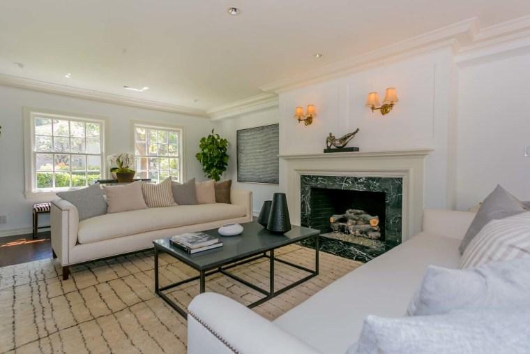 Groucho Marx's living room