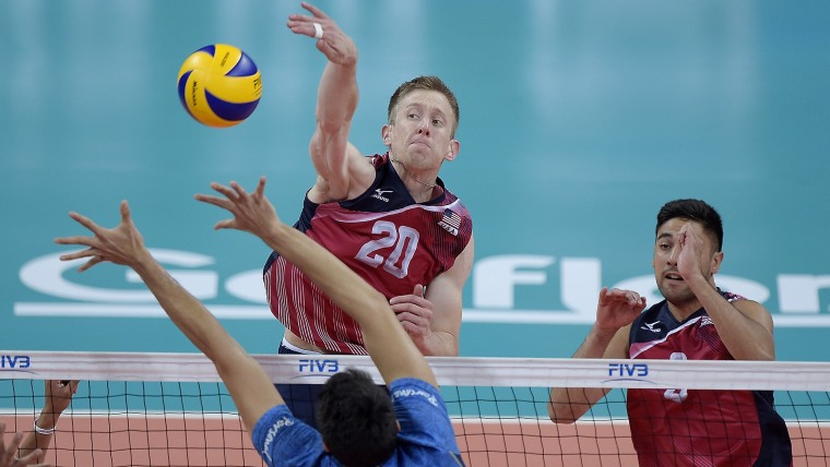 David Smith volleyball