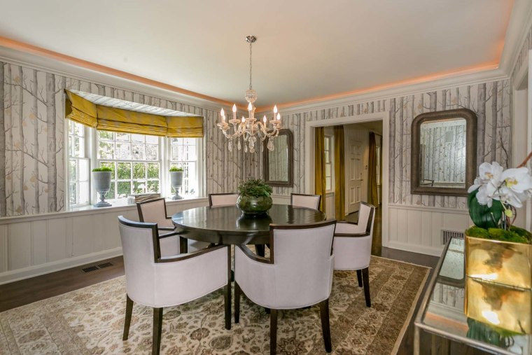 Groucho Marx's dining room