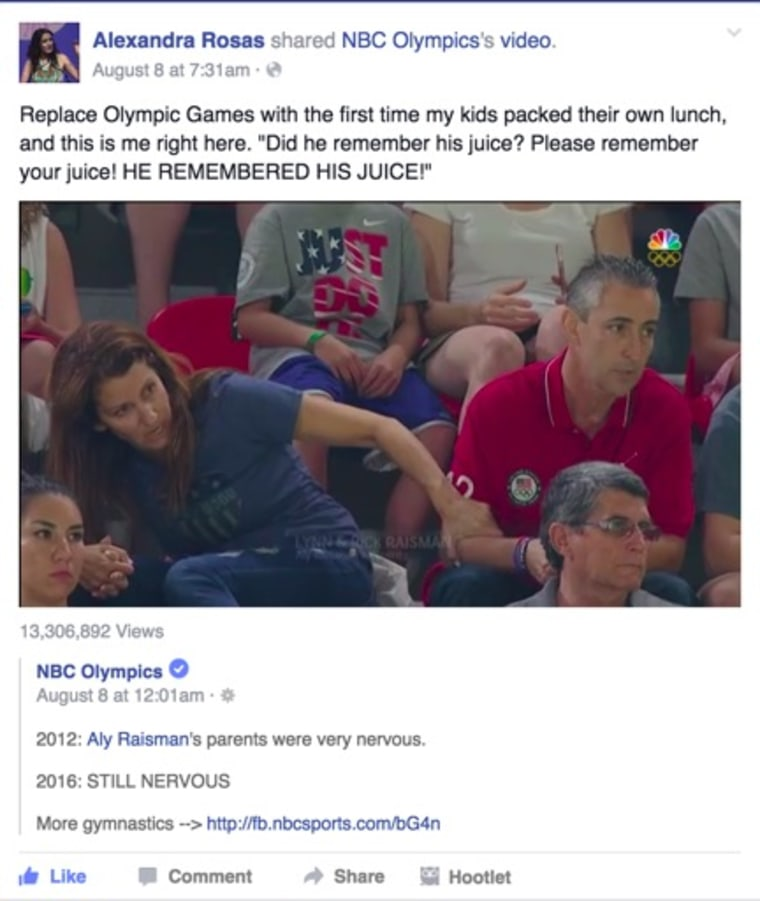 IMAGE: Olympic parents