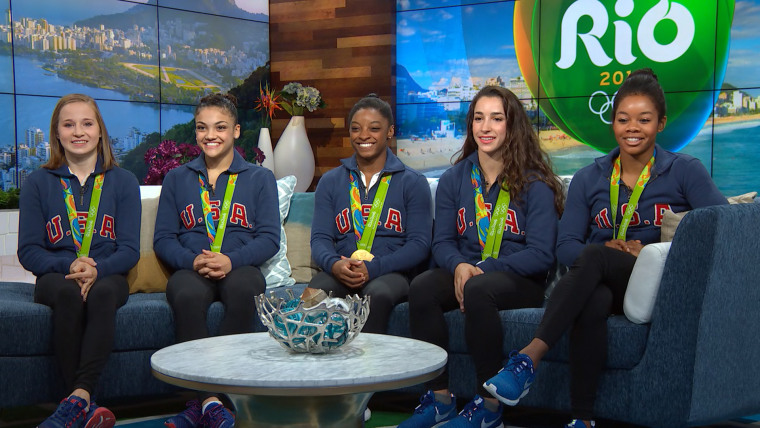 Final Five US Women's gymnastics team