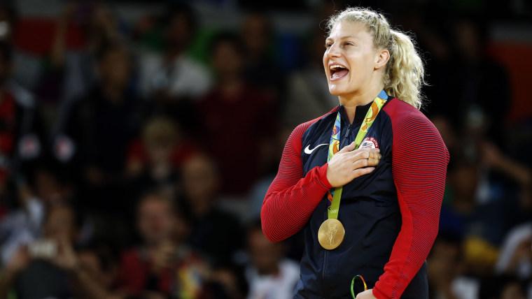 JUDO gold medalist kayla harrison