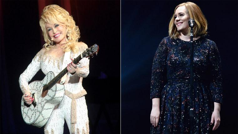 Dolly parton, Adele