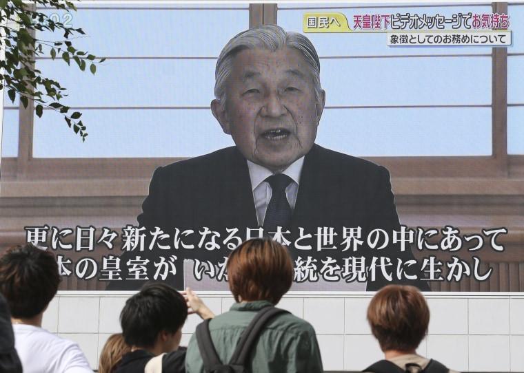 Image: Japanese Emperor Akihito