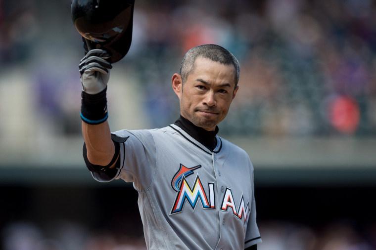 Ichiro Suzuki Joins MLB's 3,000-Hit Club