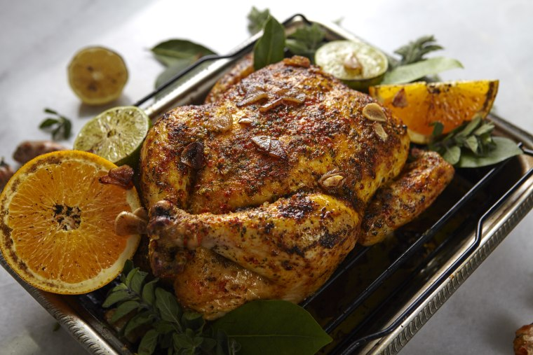 Mojo-style Roasted Chicken recipe by Jacqueline Kleis