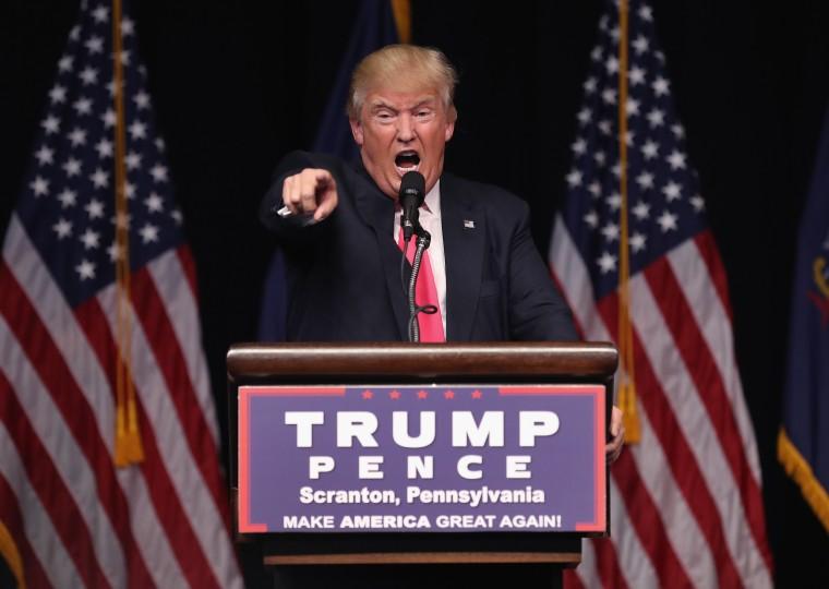 Image: Republican presidential candidate Donald Trump