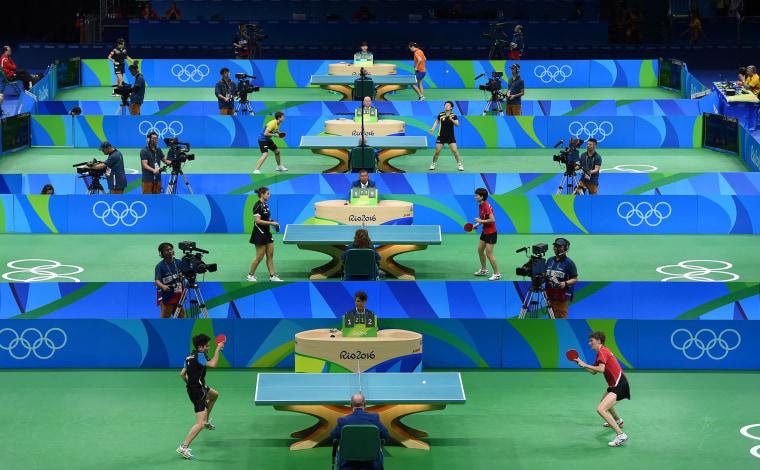 Image: TOPSHOT-TABLE TENNIS-OLY-2016-RIO