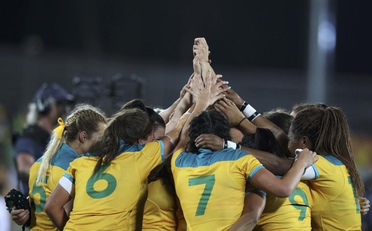 Image: Rugby - Women's Gold Medal Match Australia v New Zealand