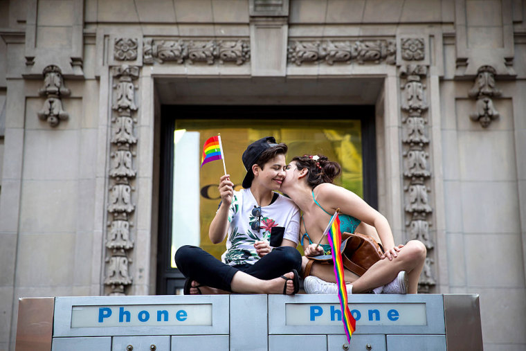 New York's Annual Gay Pride Parade