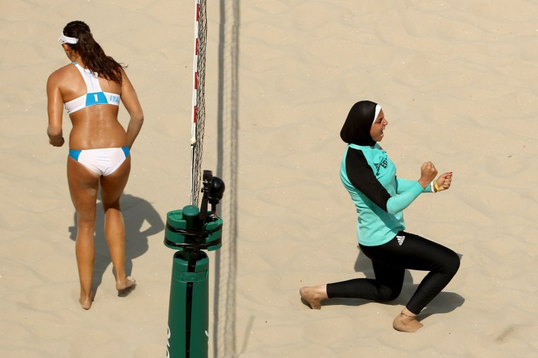Image: Beach Volleyball - Olympics: Day 4