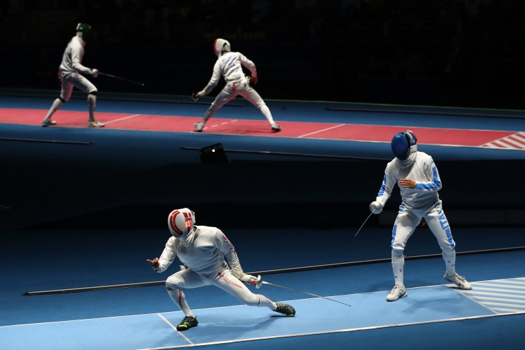 Image: Fencing - Olympics: Day 4